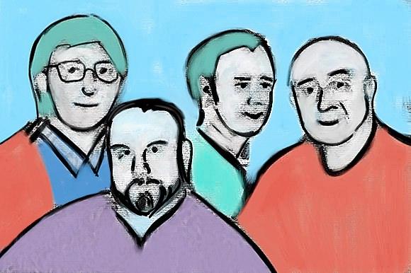 Charles Maynes, Mark Meuwese, Scott Gershin and Randy Thom.